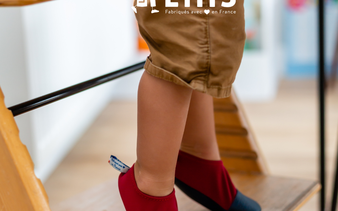 Les Pas Petits : « Les chaussons made in France qui bougent ! Ils ne vous quitteront plus d'une semelle »