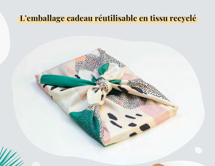 Paké, l'emballage cadeau éthique pour faire de Noël un moment de partage écoresponsable