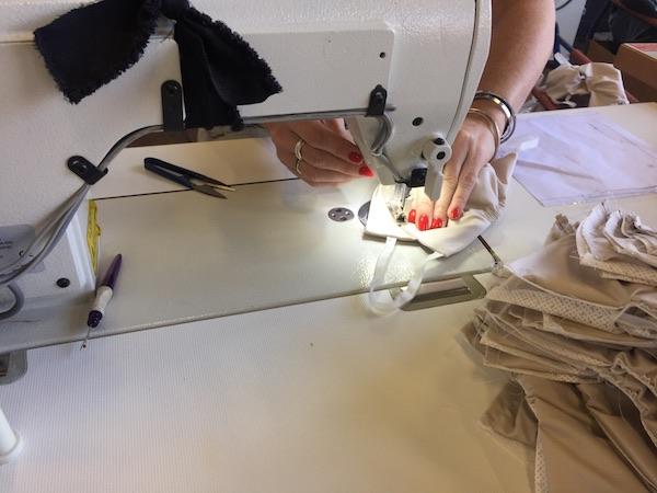 fashion green hub fabrication masque en tissus