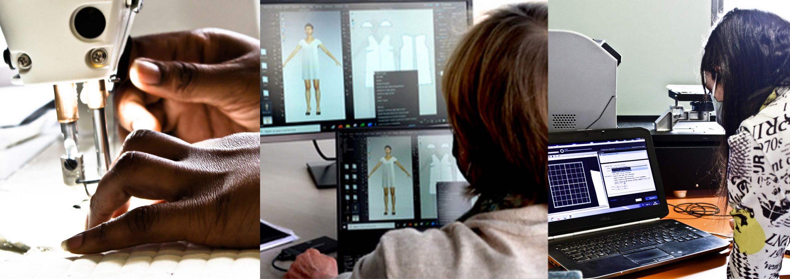 Conception 2D 3D et production tee-shirt