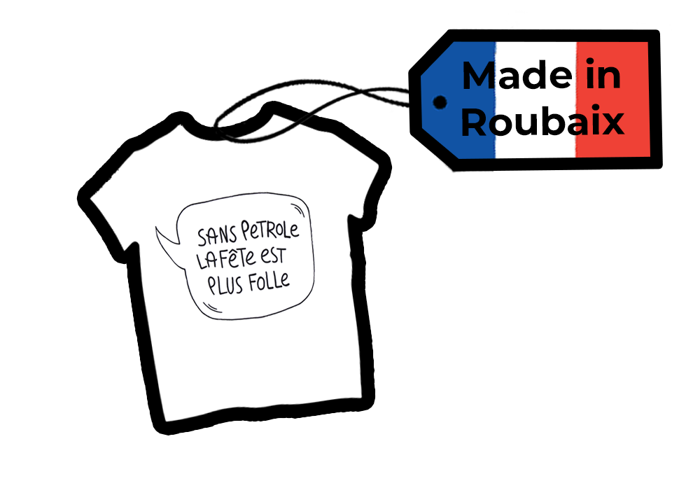 T-Shirt Made in France - Made in Roubaix