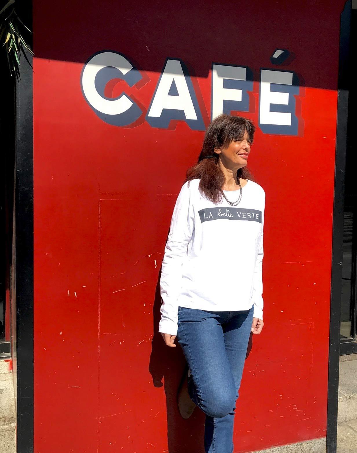 Arielle Levy - t-shirt La belle verte