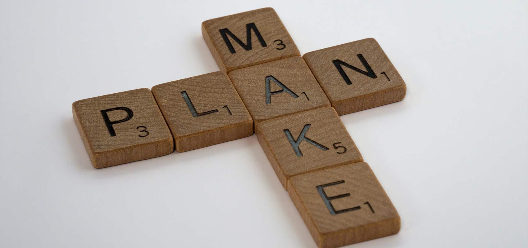fiabilité - make a plan