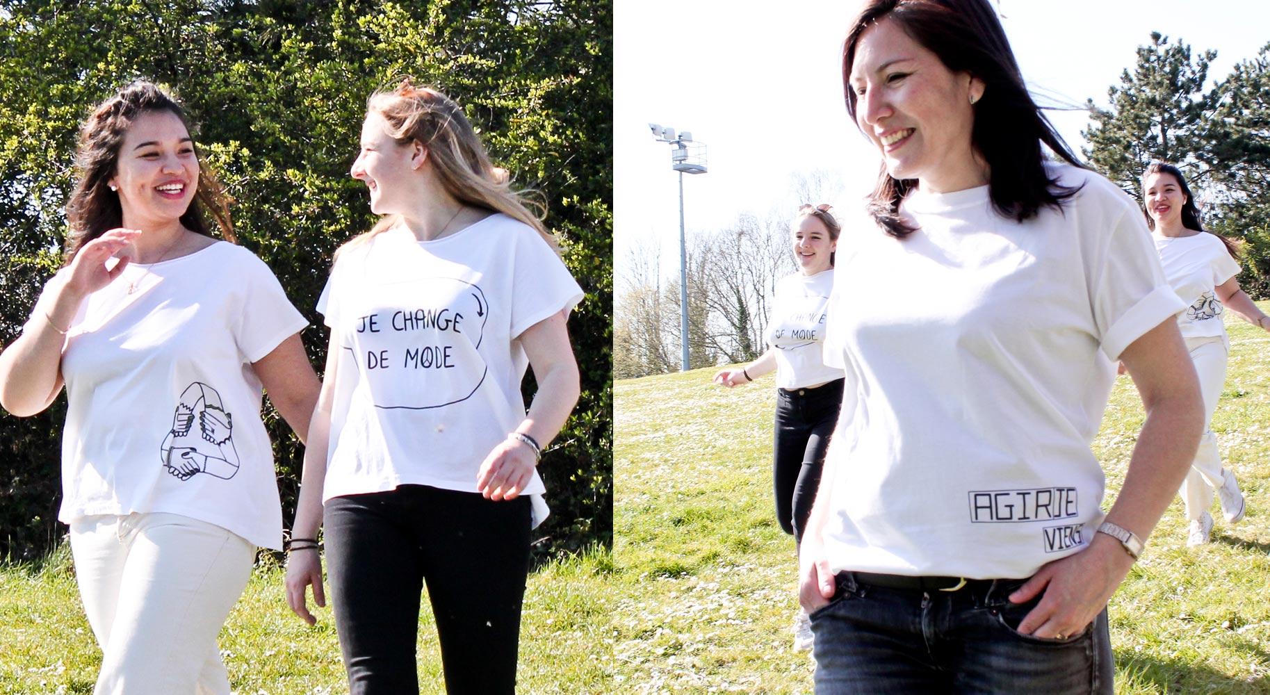 tee-shirt FGH shooting