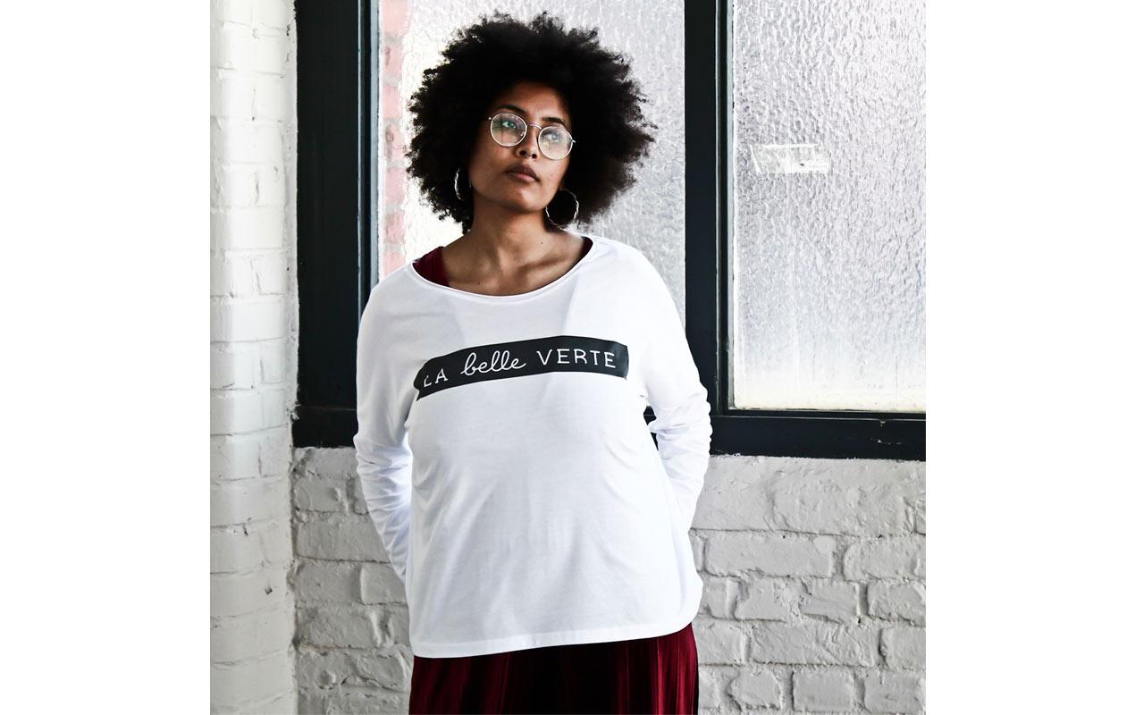 t-shirt made in france la belle verte