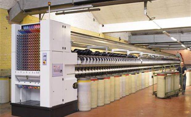 travail de la fibre de lin - manufactue du textile
