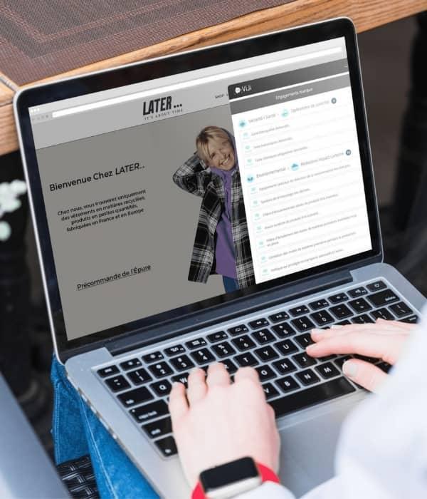 Viji site internet