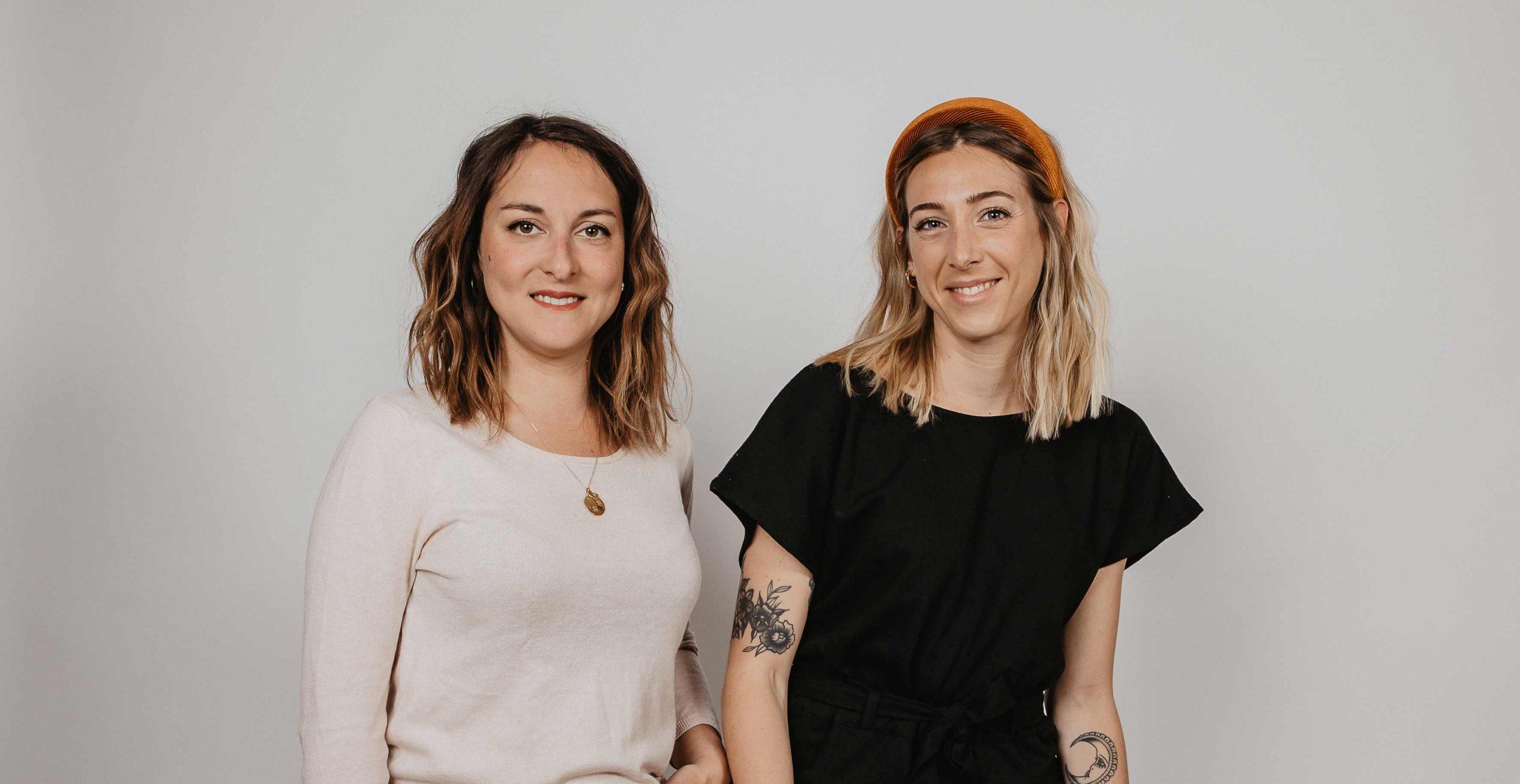 Charlotte _ Eléonore - co-fondatrices d'UpTrade