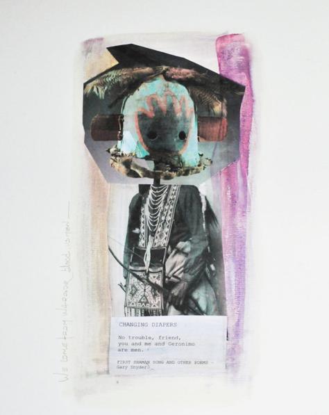 Poesiaandsong Collage en collaboration avec Akafannchampion