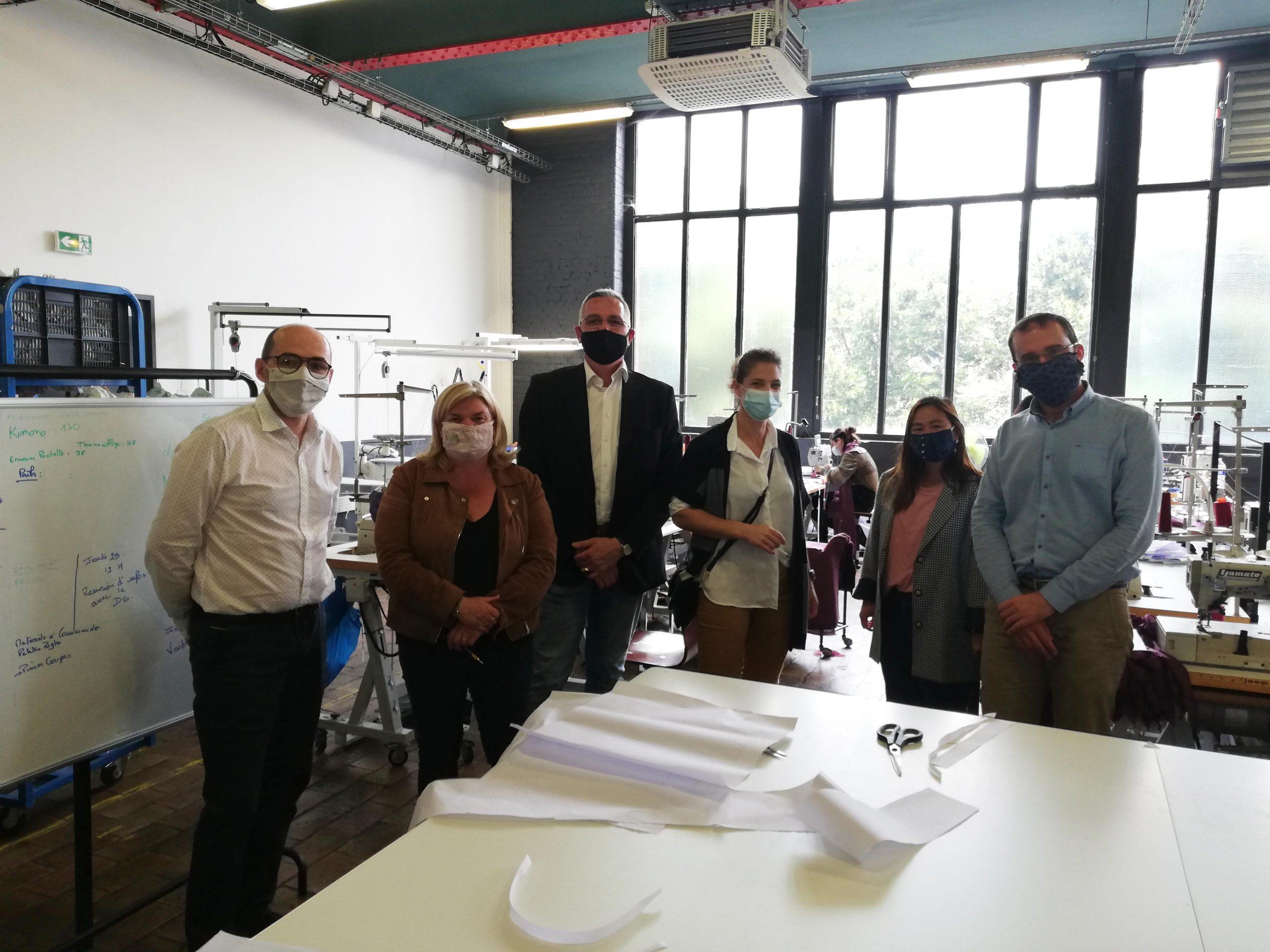 Collaboration sac atelier agile, FGB, Auchan et LTC